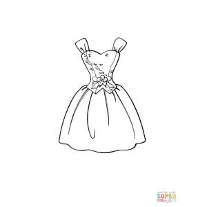 Relieving Click Dress Dress Coloring Page Free Printable Coloring Pages Design A Dress Quiz Design A Dress Shirt