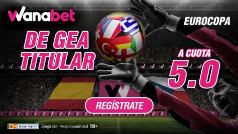 Supercuota Wanabet Eurocopa