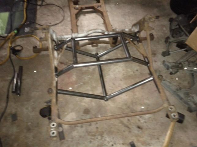 Rear Subframe Build 1