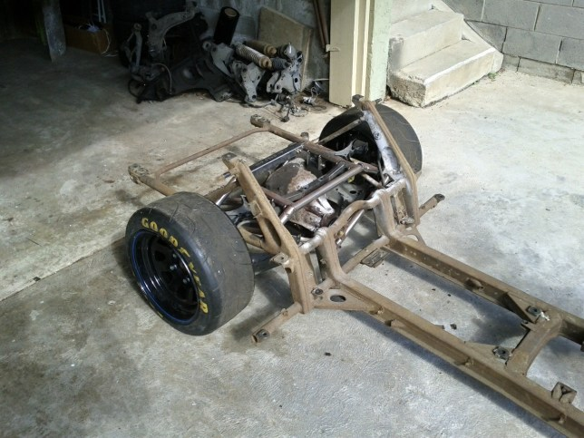 Rear sub and diff