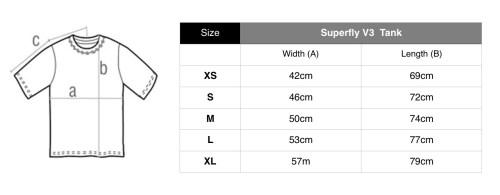 American Apparal Tank Top Sizes