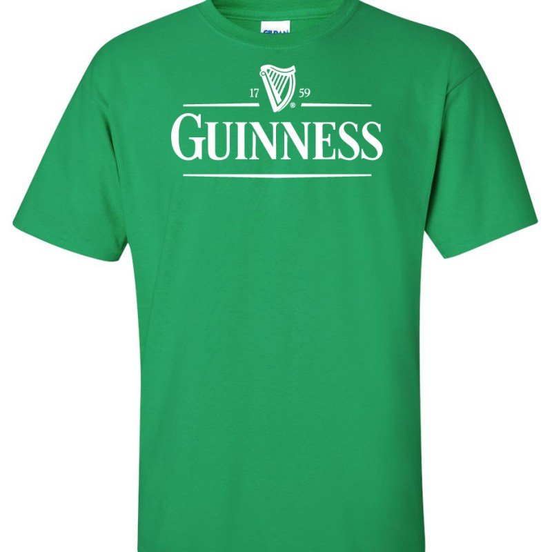 guinness beer green