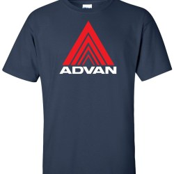 advan triangle navyblue