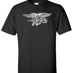 navy seal logo black