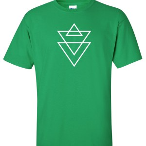 religion triangle green