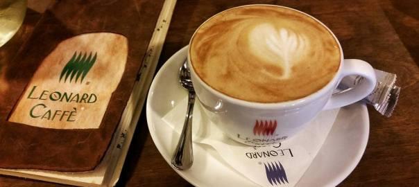 cea mai buna cafea leonard caffe