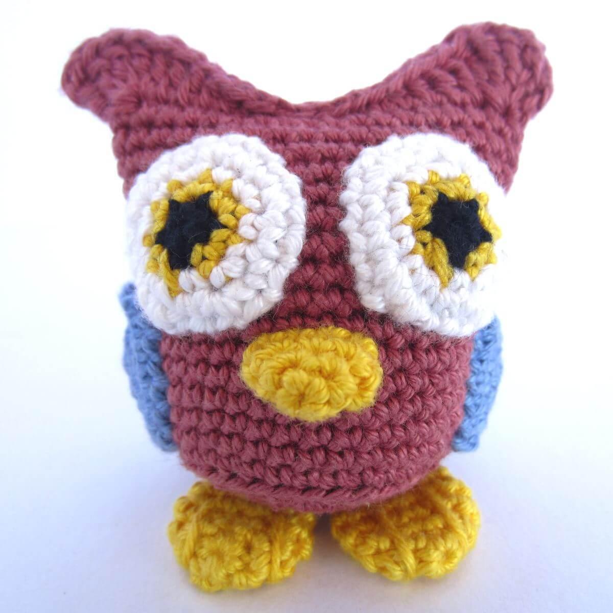 Amigurumi Crochet Owl Featured Image