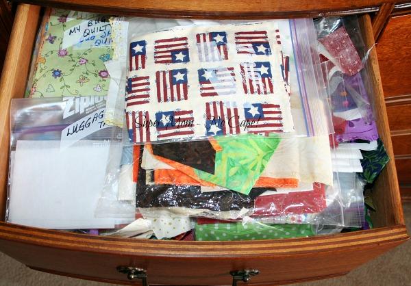 Fabric Dresser - drawer 4
