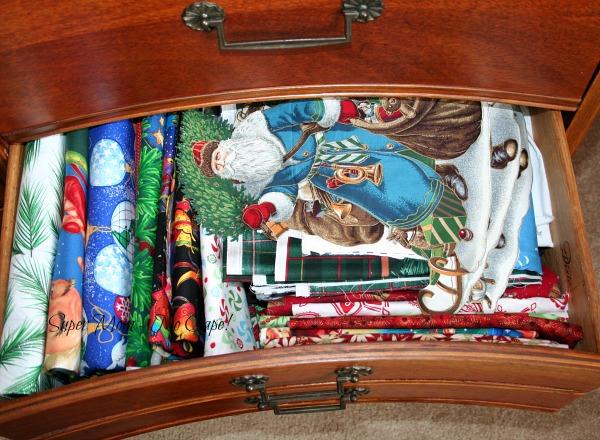Fabric Dresser - drawer 8