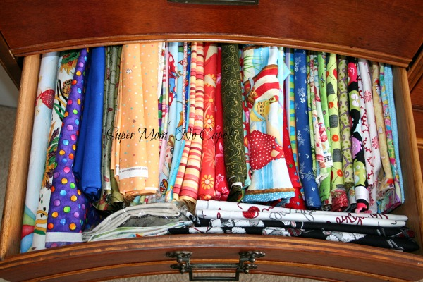 My fabric dresser - drawer number two
