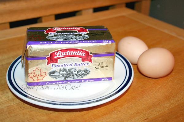 Tip #1 Have butter and eggs at room temperature