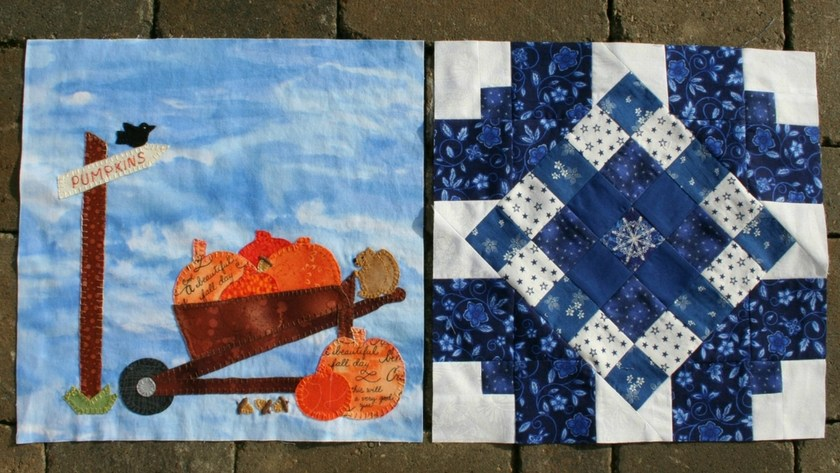 September In Our Garden – Blocks 15 and 16