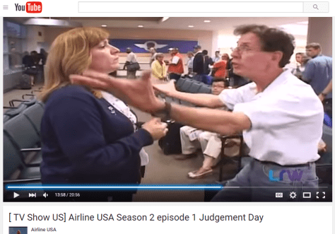 Airline argument Southwest Airlines reality show