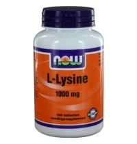 L-Lysine 1000 mg (100 tabletten) - Now Foods