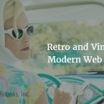 Retro and Vintage in modern web design