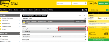 Eisbaren Berlin @ Interwetten Bookmaker