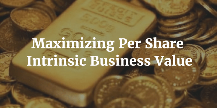 Maximizing Intrinsic Business Value
