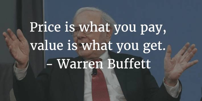 Warren Buffett Price Is What You Pay