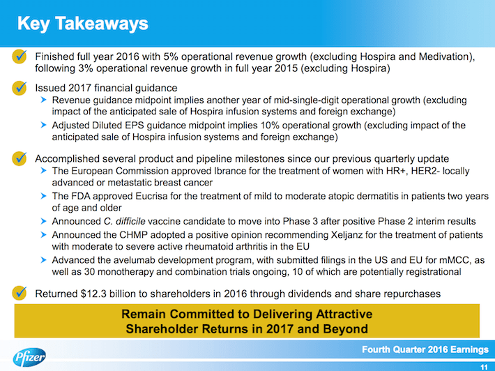 PFE Key Takeaways