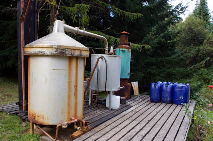 Homemade distillery surety bond