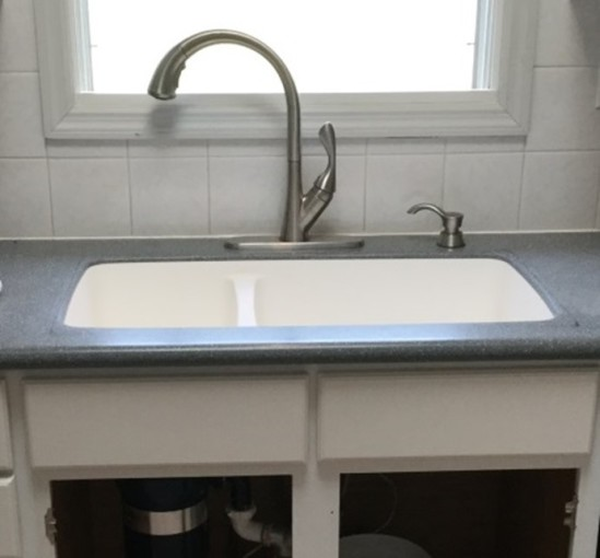 Stainless Steel, Double Bowl Sink, Solid Surface, Corian, Formica, Formica  Solid