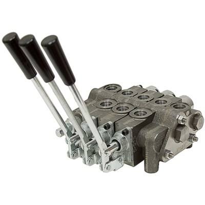 3 Spool Prince SV Sectional Control Valve Closed Center No Relief | Stack Valves | Hydraulic ...