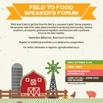 field to food speakers forum