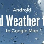 Android Google map: Add weather data tile