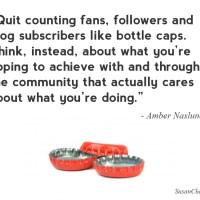 #QOTW: Quit counting fans
