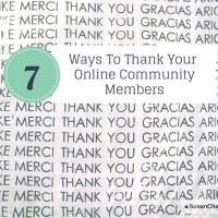 7 Ways to Thank Your Online Community Members