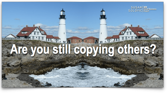 copying others