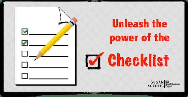 checklist-design-and-use