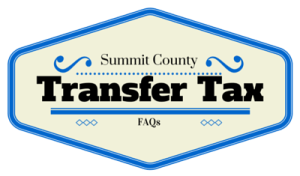 Summit County Transfer Tax FAQs