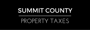 Summit County property taxes