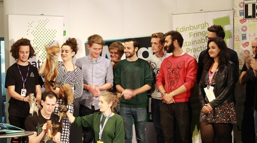 Edinburgh Fringe Sustainable Practice Award Ceremony