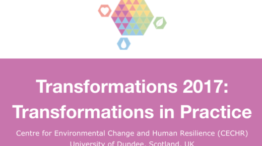 Opportunity: Transformations 2017 Call for Papers