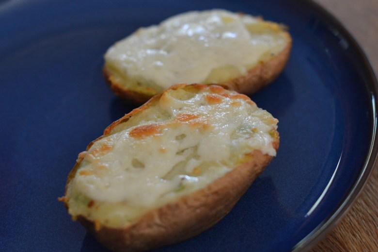 Cheesy Baked Potatoes2
