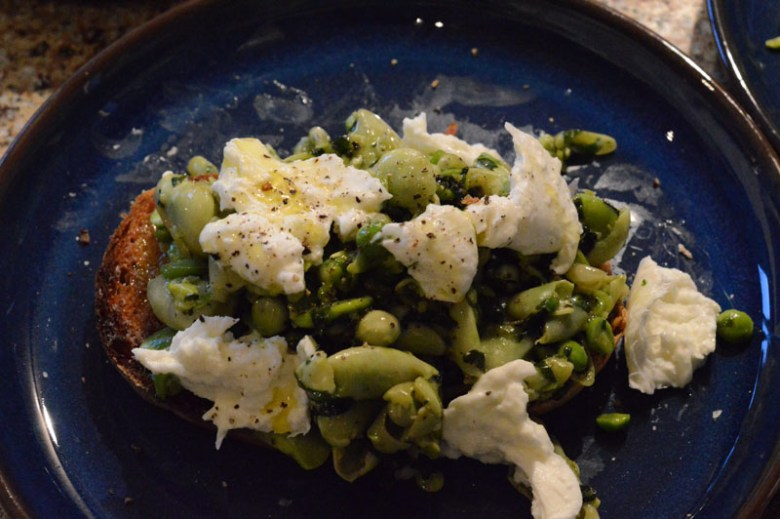 Pea and broad beans 4