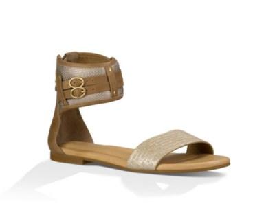 UGG Savana Metallic Basket sandal