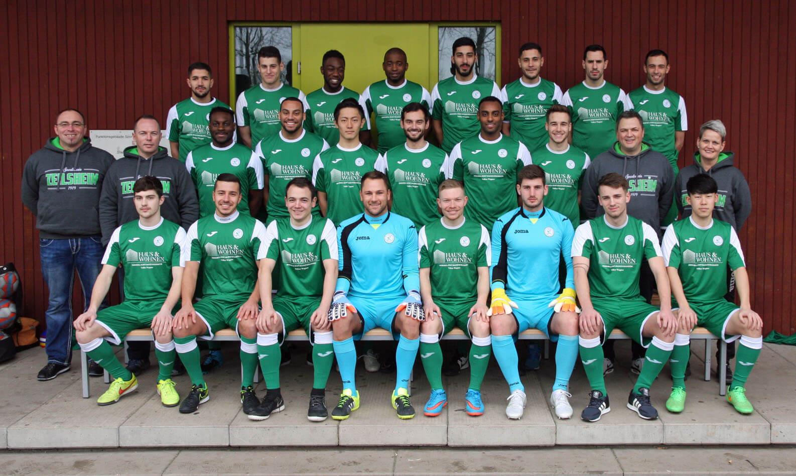 1. Mannschaft des SV 1919 Zeilsheim in der Saison 2015/2016
