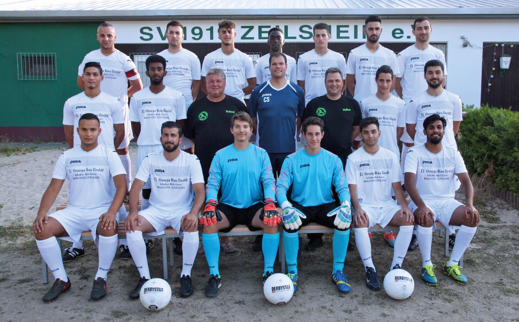 2. Mannschaft des SV 1919 Zeilsheim in der Saison 2015/2016