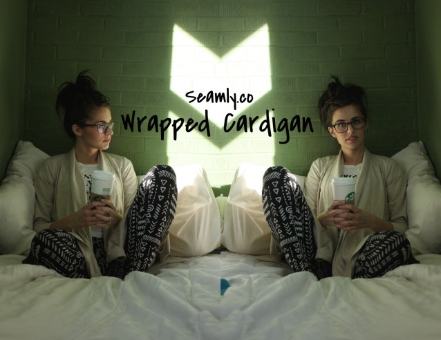 Seamly Wrapped cardigan, fashion