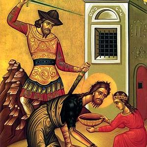 29.8. – Glavosijek sv. Ivana Krstitelja