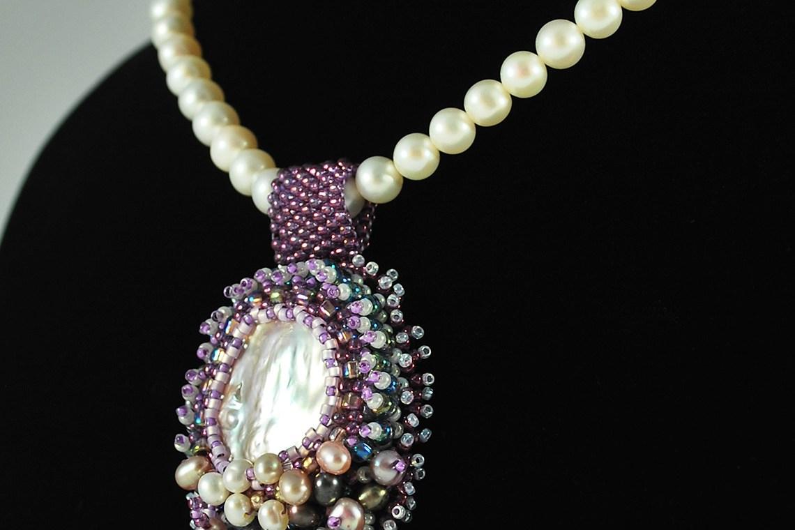 Pearl Pendant Custom Order 3