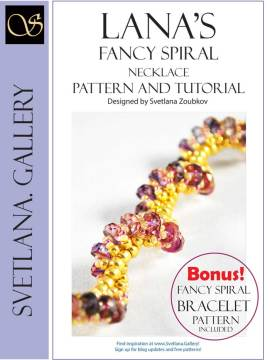 Lana's Fancy Spiral Pattern And Tutorial - Svetlana.Gallery