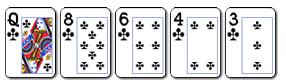 6 poker pet karata u istoj boji