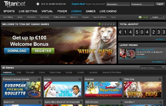 Titanbet kladionica casino bonus 100 kazino kasino