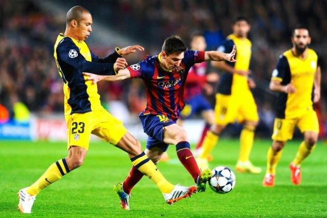 Messi vs Atletico