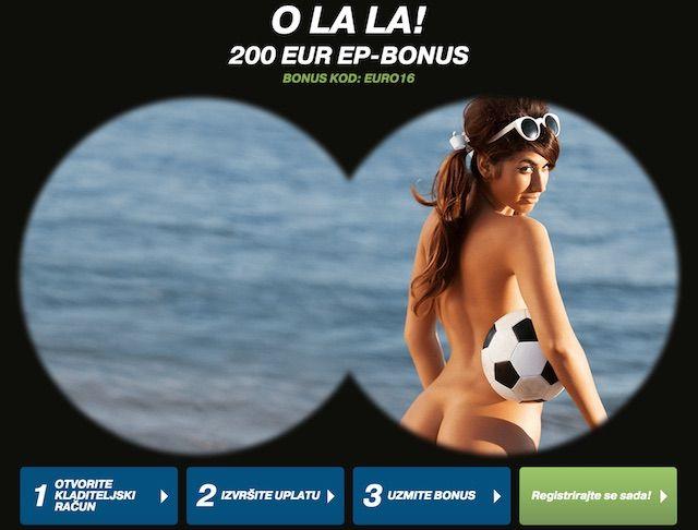 EURO 2016 Bonus za kladjenje