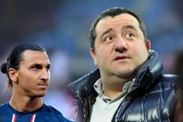 Ibrahimovićev agent Mino Raiola komentarisao mogući transfer Šveđanina u Manchester United